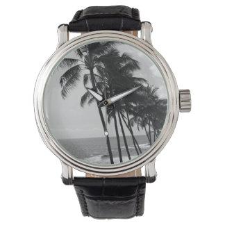 ヤシの木の相次いで男性用ヴィンテージ腕時計 腕時計