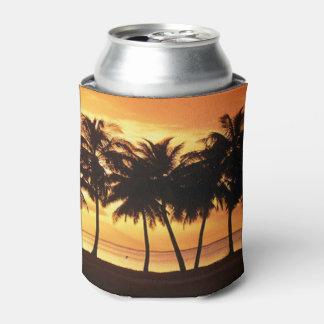 ヤシの木の空想のクーラーボックス 缶クーラー