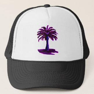 ヤシの木の紫色博物館のZazzleのギフト キャップ