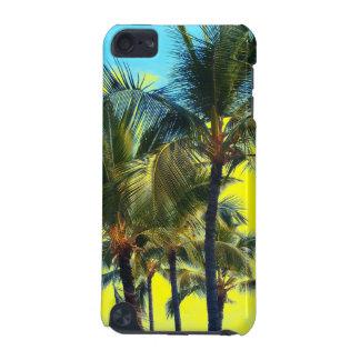 ヤシの木の芸術のハワイのiphoneのtouchの場合 iPod touch 5G ケース
