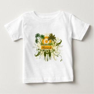 ヤシの木ブルンディ ベビーTシャツ