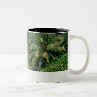 ヤシの木3 ツートーンマグカップ