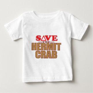 ヤドカリの保存 ベビーTシャツ