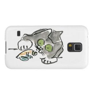 ヤドカリ及び子猫 GALAXY S5 ケース