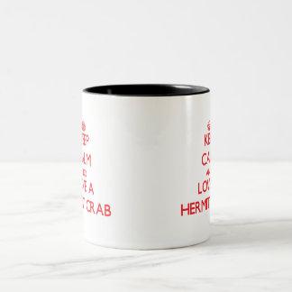 ヤドカリ ツートーンマグカップ