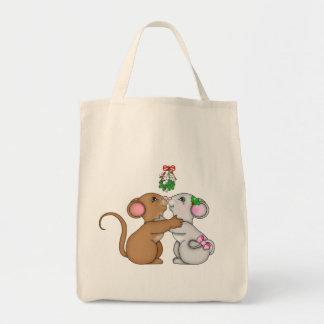 ヤドリギのネズミの応援 トートバッグ