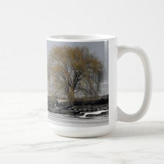 ヤナギの木のマグ コーヒーマグカップ