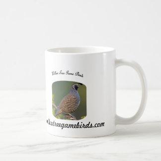 ヤナギの木の狩猟鳥のコーヒー・マグ コーヒーマグカップ