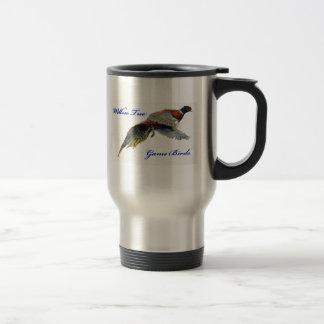 ヤナギの木の狩猟鳥のマグ トラベルマグ