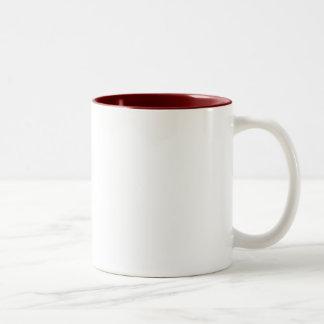 ヤナギの木の茶マグ ツートーンマグカップ