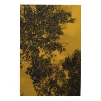 ヤナギの木 ウッドウォールアート