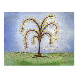 ヤナギの木 ポストカード