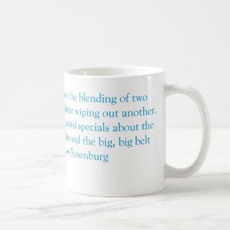 ヤナギのRosenburgの感謝祭の引用文 コーヒーマグカップ