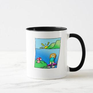 ヤナギは家のマグ歩きます マグカップ
