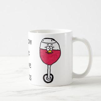 ヤナギワイングラスのマグ コーヒーマグカップ