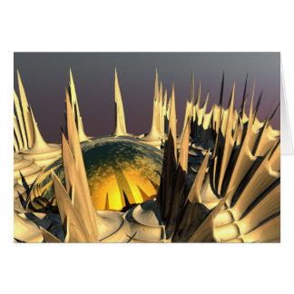 ヤマアラシのクイル カード