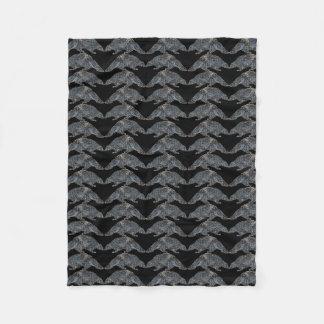 ヤマアラシパターン毛布 フリースブランケット