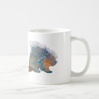 ヤマアラシ コーヒーマグカップ