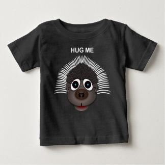 ヤマアラシ-ベビーの素晴らしいジャージーのTシャツ ベビーTシャツ