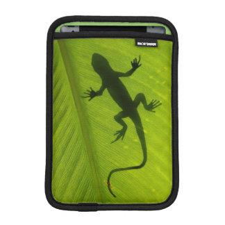 ヤモリのシルエット iPad MINIスリーブ