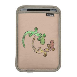 ヤモリのダンス iPad MINIスリーブ