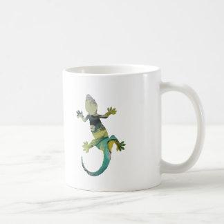 ヤモリの芸術 コーヒーマグカップ