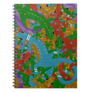 ヤモリマニア ノートブック