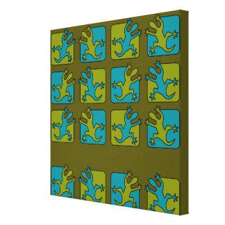 ヤモリ/トカゲのキャンバスのプリントは、カスタマイズ キャンバスプリント