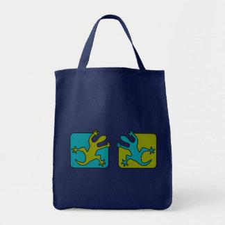 ヤモリ/トカゲのバッグ-スタイル及び色を選んで下さい トートバッグ