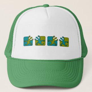ヤモリ/トカゲの帽子-色を、カスタマイズ選んで下さい キャップ