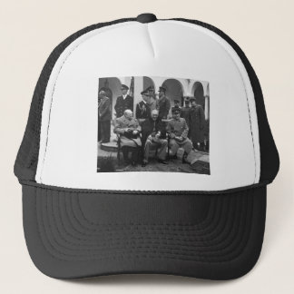 ヤルタの会議ルーズベルトスターリンChurchill 1945年 キャップ