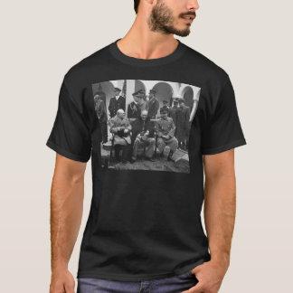 ヤルタの会議ルーズベルトスターリンChurchill 1945年 Tシャツ