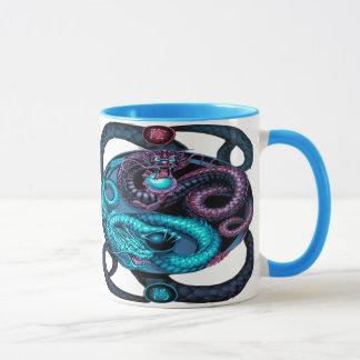 ヤンのコーヒー・マグをyingドラゴン マグカップ