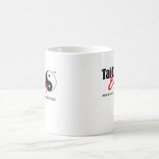 ヤンのデザインをyingのTaiのキーのEasy™のロゴのマグ コーヒーマグカップ