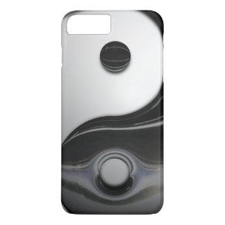 ヤンの光沢がある金属インおよび記号 iPhone 8 PLUS/7 PLUSケース