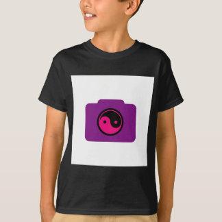ヤンの記号をyingのデジタルカメラ tシャツ