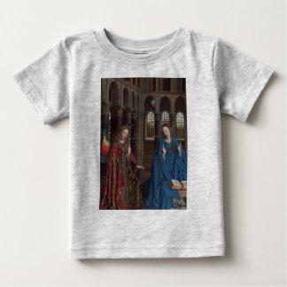 ヤン・ファン・エイク著告知 ベビーTシャツ