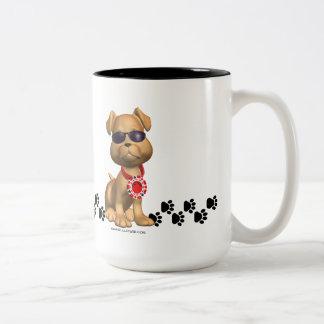 ヤードのスクーターのコーヒー・マグ ツートーンマグカップ