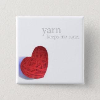 ヤーンの健全なボタン 缶バッジ