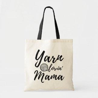 ヤーンの愛情のあるママ • 技術及びヤーン トートバッグ