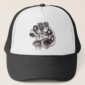 ユキヒョウのカブスの内気な帽子 キャップ