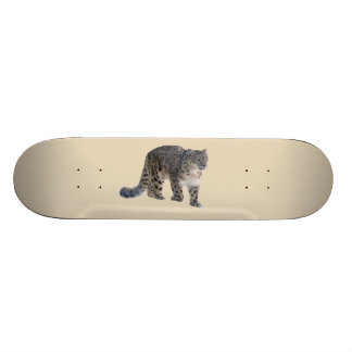 ユキヒョウ 21.6CM オールドスクールスケートボードデッキ