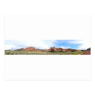 ユタのパノラマ式の景色 ポストカード