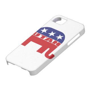ユタの共和党員象 iPhone SE/5/5s ケース