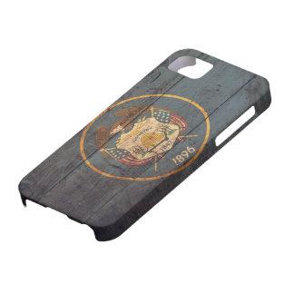 ユタの古い木の旗; iPhone SE/5/5s ケース