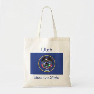 ユタの旗のバッグ トートバッグ