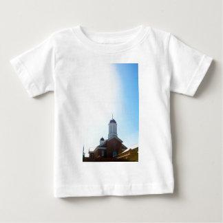 ユタの春のldsのモルモン寺院 ベビーTシャツ