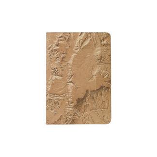 ユタの立体模型地図 パスポートカバー