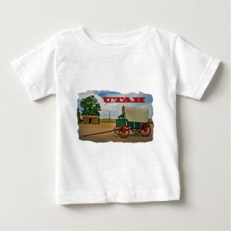 ユタの素朴な駅馬車 ベビーTシャツ