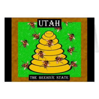 ユタミツバチの巣の州 カード